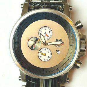 Authentic Vestal gently used men's watch. Steel.